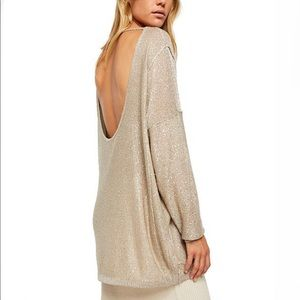 Free People All That Glitters Sweater